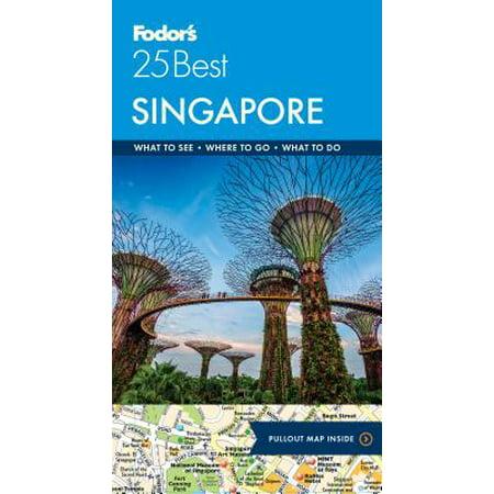Fodor's singapore 25 best - paperback: