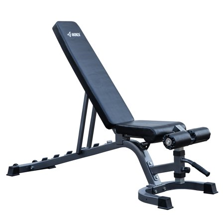 Akonza adjustable bench incline flat decline press abs workout dumbbells weight lifting - Weight bench incline decline ...