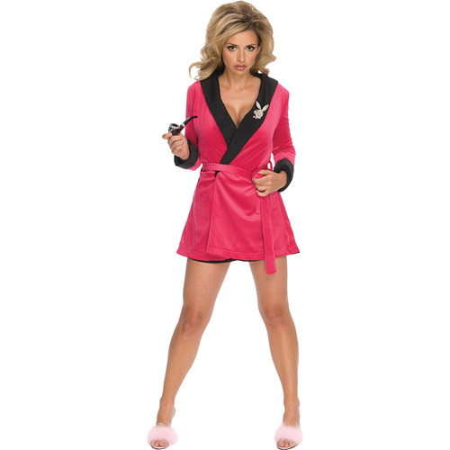 Playboy Pink Sassy Girlfriend Halloween Costume, Size: Women's - One Size