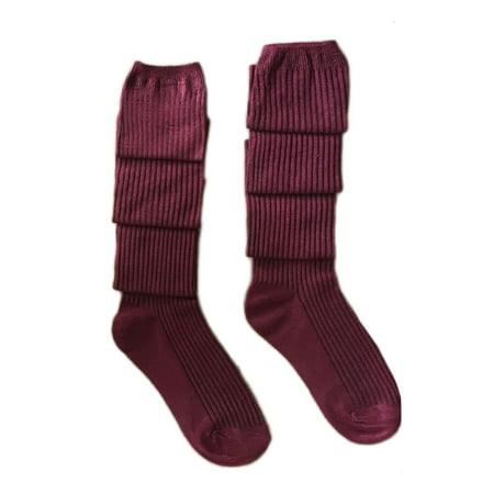 72a201f62 Babula - Babula Women Knit Over Knee High Socks Warm Wool Tight Stockings -  Walmart.com