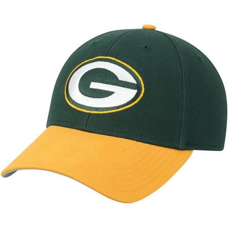 Men's Fan Favorite Green/Gold Green Bay Packers Two-Tone Adjustable Hat - OSFA