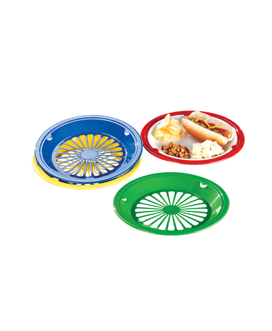 Miles Kimball Paper Plate Holders Set of 8