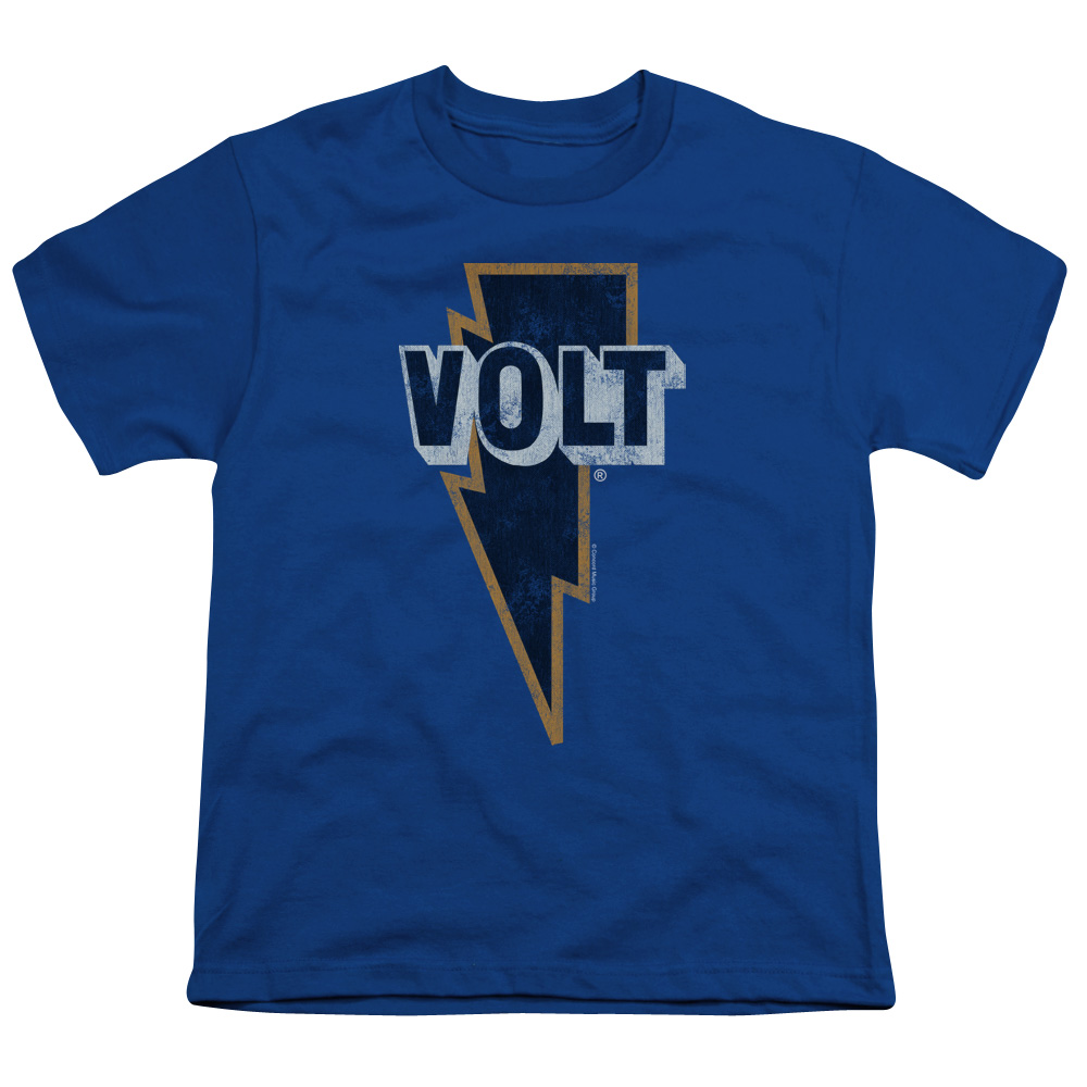 VOLT LOGO - S/S YOUTH 18/1 - ROYAL - MD