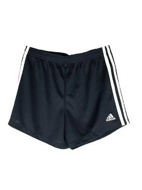 Adidas Girls Youth Core Athletic Short - Black/White (M 10/12)