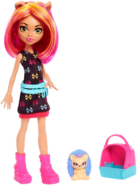 Monster High Monster Family Howleen Wolf & Cushion Doll + Pet by Mattel