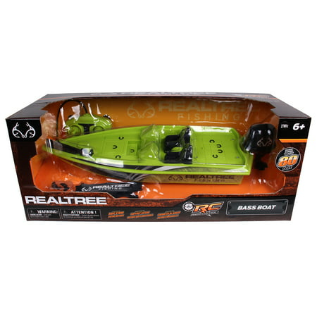 NKOK RealTree® Full Function Remote Control Bass Boat
