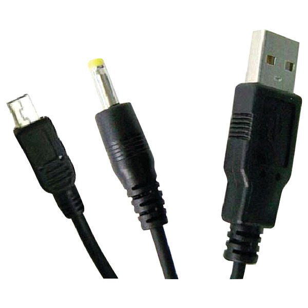 Innovation 7-38012-54823-2 PSP 2-In-1 USB Data Transfer Cable and Charger (PSP)