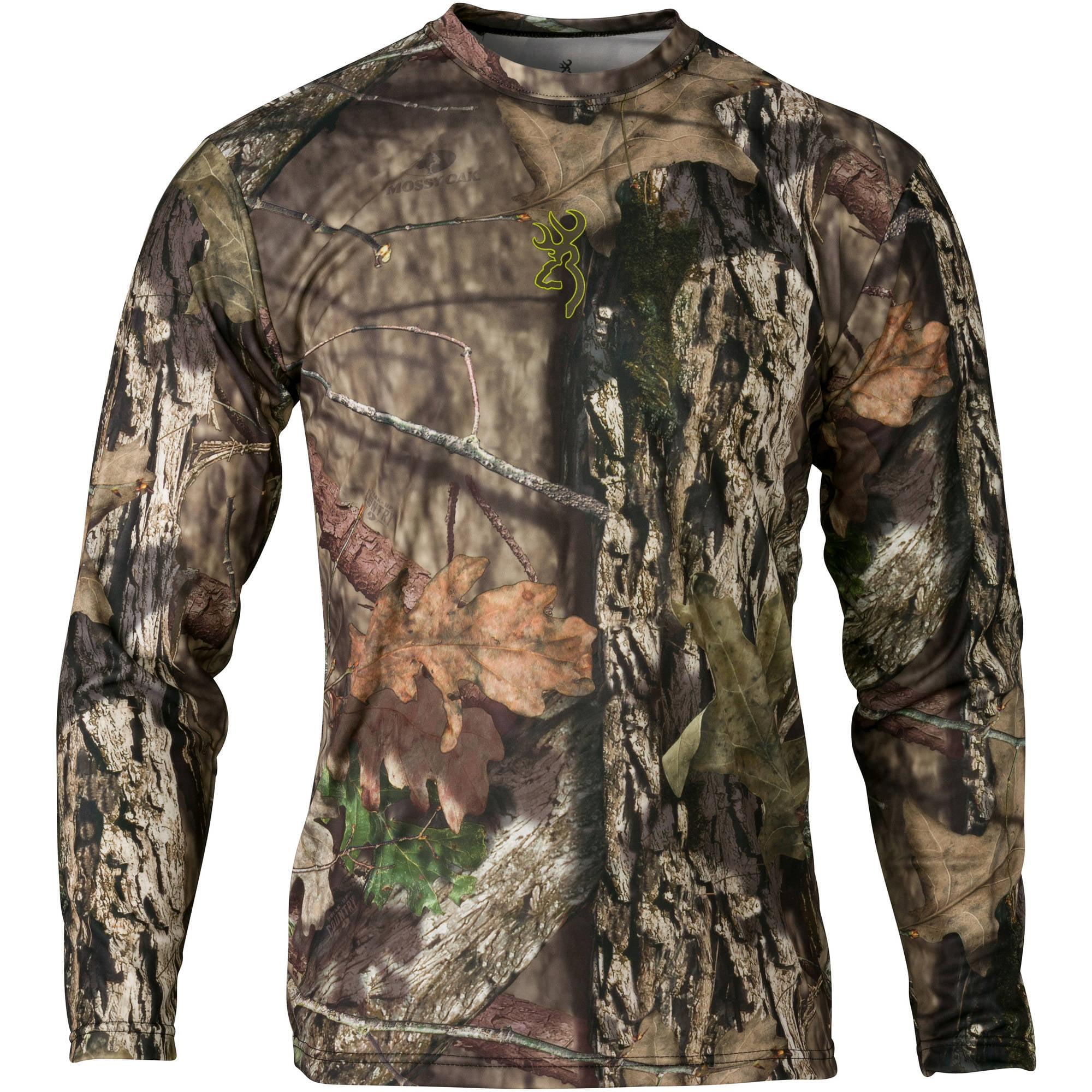 Browning Vapor Max Shirt, Long Sleeve Mossy Oak Break-Up Country
