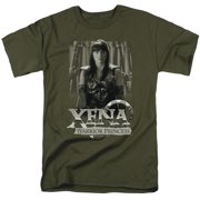 Xena Warrior Princess Honored Mens Short Sleeve Shirt
