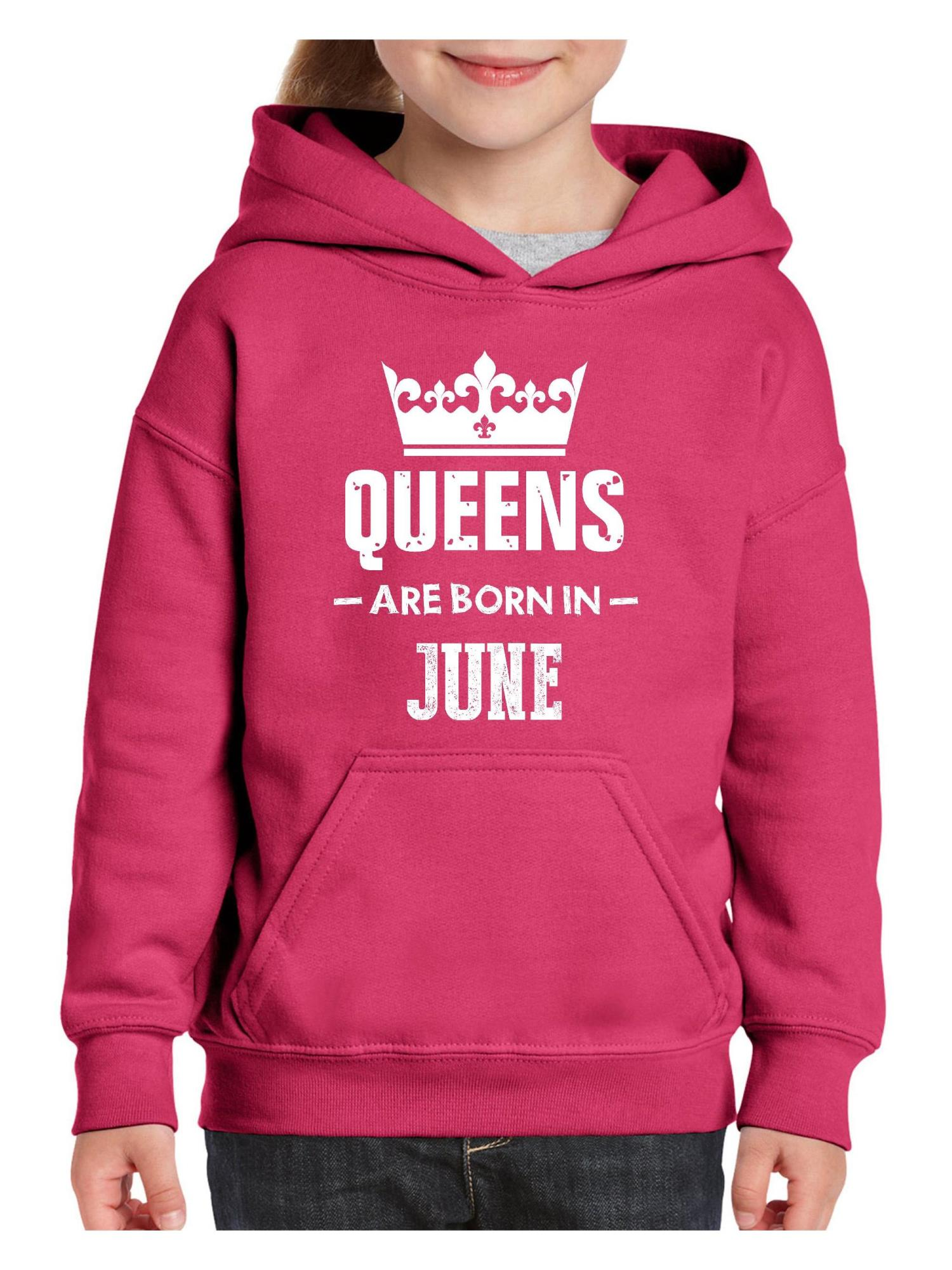 Queens are Born in June Premium Unisex Hoodie with Pocket