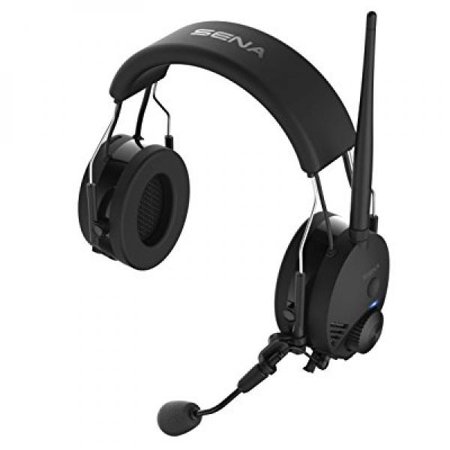Sena Tufftalk-01 Black Earmuff Bluetooth Communication and Intercom