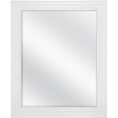 Cream Beveled Mirror (Mainstays Classic Beveled Wall Mirror, 27