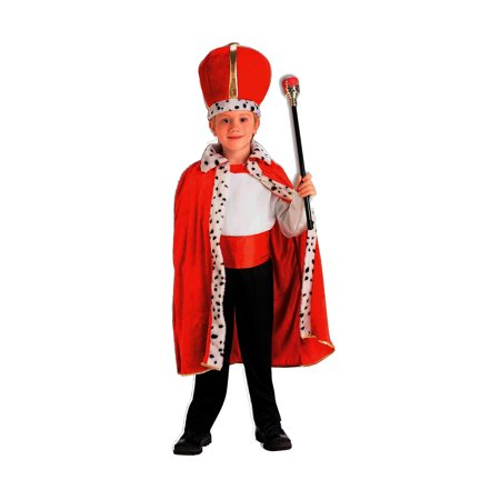 King Robe and Crown Red Unisex Child (King's Crown Child)