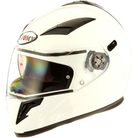 Suomy Halo Solid White Helmet - Buy Halo Helmet