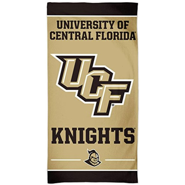 WinCraft University of Central Florida UCF Knights Sport Towel with Metal Grommet and Hook 16x25 inches