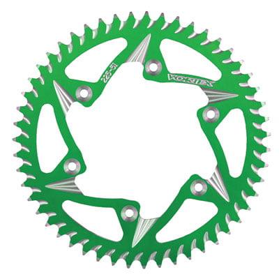 Vortex 520 Aluminum Rear Sprocket 50 Tooth Green for Kawasaki
