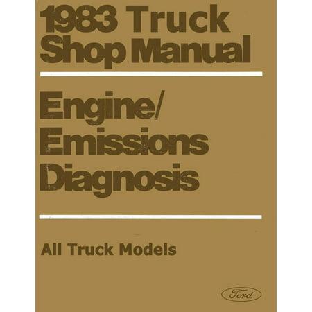 Bishko OEM Repair Maintenance Shop Manual Loose Leaf for Ford Vol H Truck - Eng Emissions & Diag. 1983 ()
