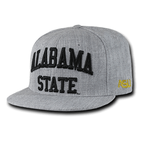 NCAA Alabama State University Hornets Game Day Snapback Caps Hats Heather Grey ()