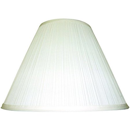 Mainstays Ivory Soft Pleat Table Shade