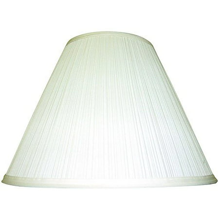 Mainstays Ivory Soft Pleat Table (Animal Safari Lamp Shade)