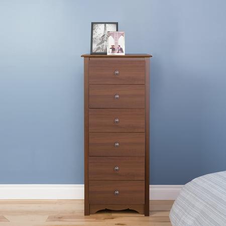 Monterey Tall 6-Drawer Dresser, Multiple Colors Prepac Drawer Dresser