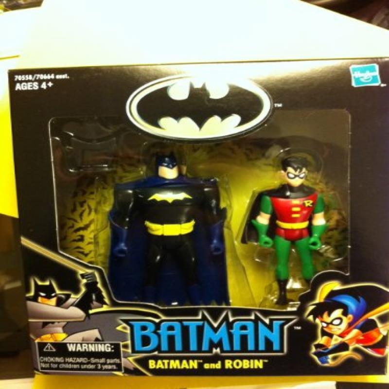 Wal-mart Batman and Robin Two Pack From the Batman The Animated Series Walmart Exclusive