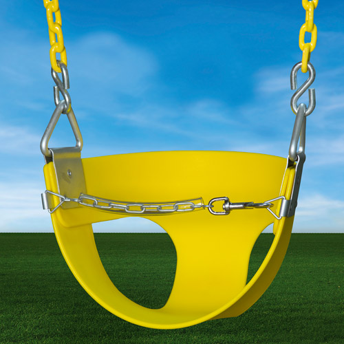 Gorilla Playsets Toddler Swing, Yellow