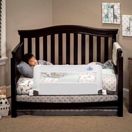 Convertible Swing Down Bed Rail