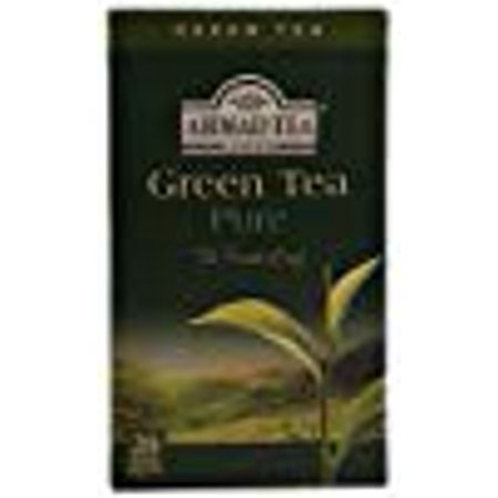 Ahmad Tea Green Tea Pure The Finest Leaf 20 Bags 1.4 Oz. Pk Of 6.