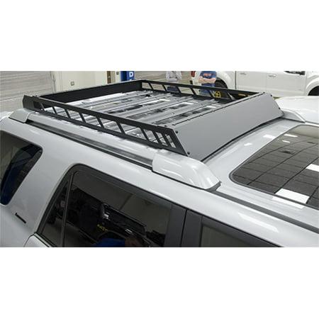 N-Fab Roof Rack 10-17 Toyota 4 Runner Fits all styles 4 Door - Tex. Black