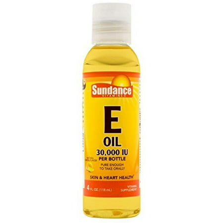 2 Pack - Sundance Vitamin E Oil Liquid 4 oz