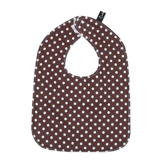 Cuddlbee bdbi108 Brown Dot Bib