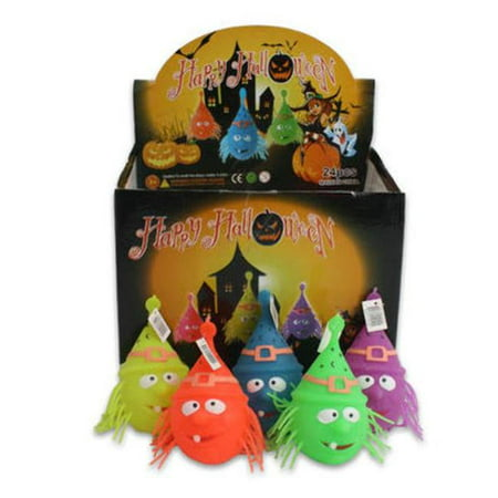 DDI 2321140 Halloween Witch Ball Display, Assorted Color - 5 in. - 144 Per Pack - Case of 144 (Wiener Halloween Ball)
