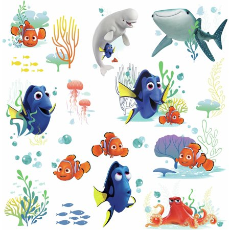 RoomMates Finding Dory Peel and Stick Wall Decals - Finding Nemo Wall Decals