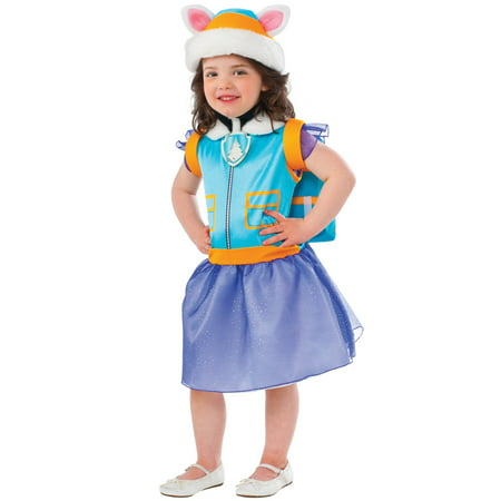 Paw patrol: everest classic child costume S (4-6) (Female Border Patrol Halloween Costume)