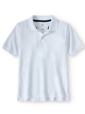 Wonder Nation Little Boys & Big Boys Short Sleeve Polo Top