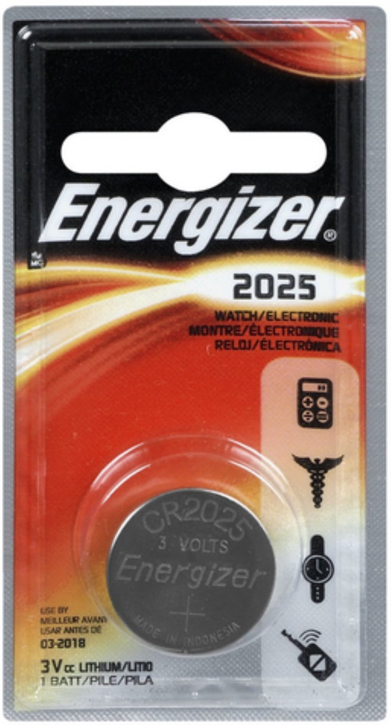 4 Pack Energizer Watch Electronic Battery 3 Volt 2025 1 Each by