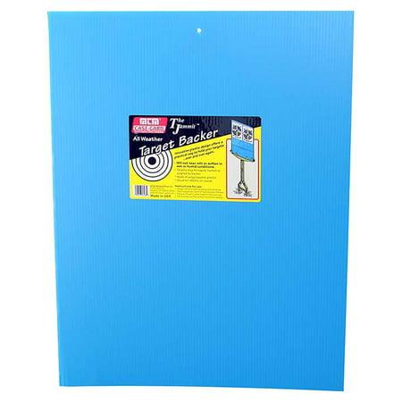 Mtm TB20BL Jammit Target Stand Backer Target Holder Sheet 17.5x23 Inch Blue