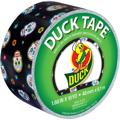 "Duck Brand, Duct Tape, 1.88"" x 10 yds, Sugar Skull"