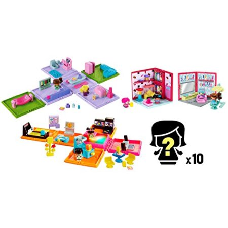 Family Room Playset (My Mini MixieQ's Bundle - Mini Rooms, Playsets, and Figures )
