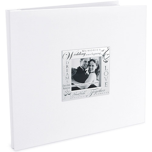 Expressions Wedding Postbound Album 12''X12'', White