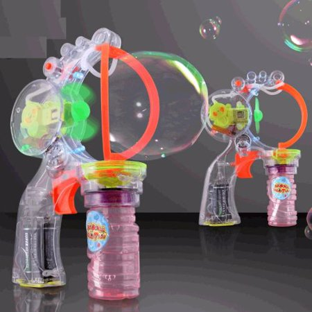 Big and Little Bubble Making Gun with Music
