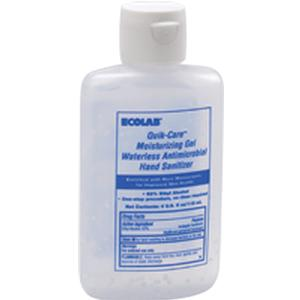 Quik-Care Moisturizing Gel Waterless Antimicrobial Hand Sanitizer, Dye-Free  4 oz. Squeeze Bottle, 1 Count
