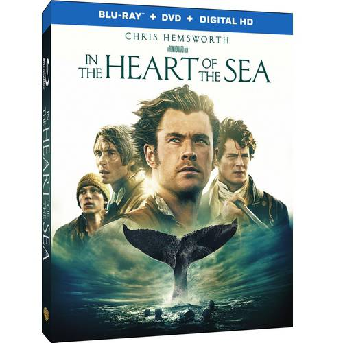 In The Heart Of The Sea (Blu-ray   DVD   VUDU Digital HD) (With INSTAWATCH)