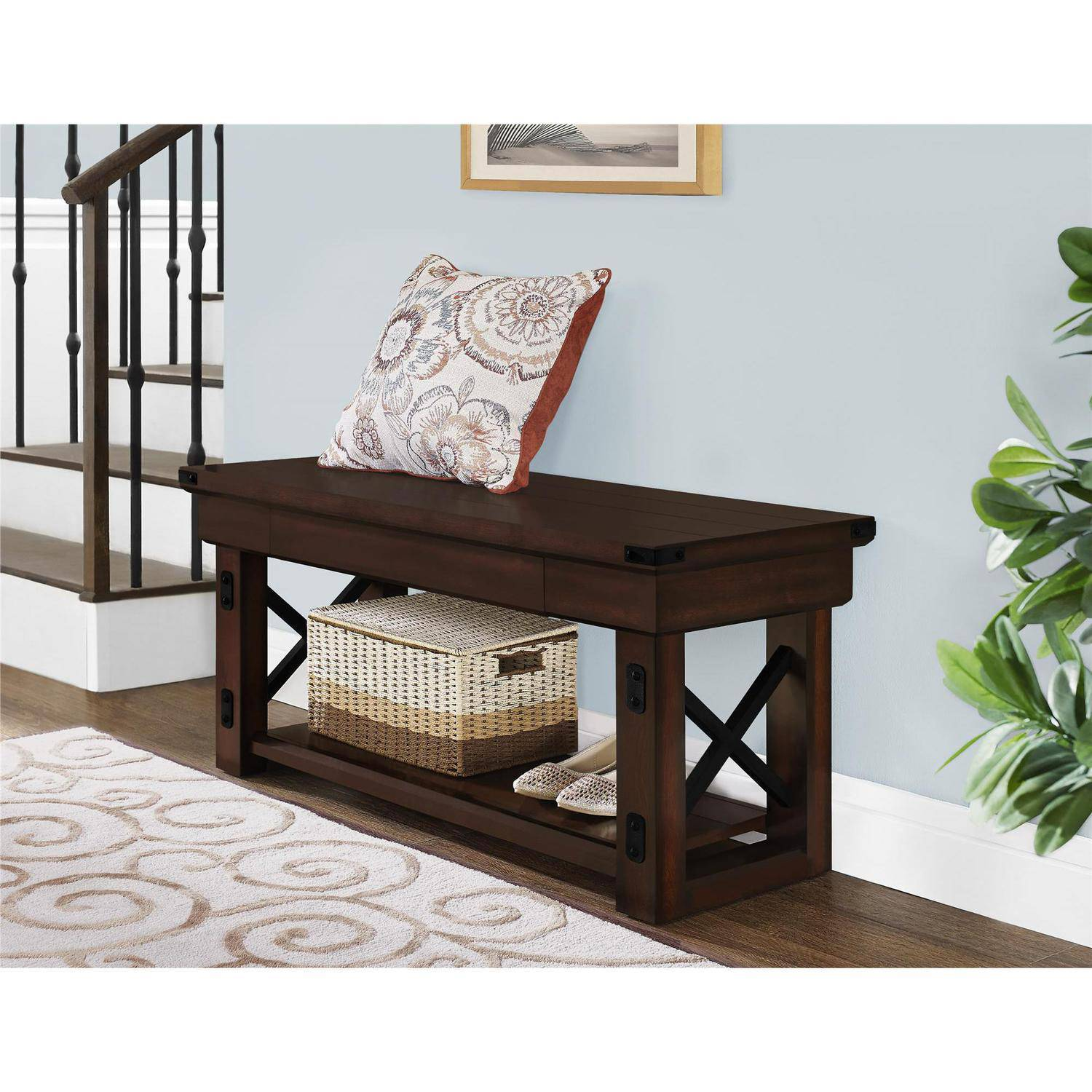fancy decorations image great entryway ideas home insight bench black of