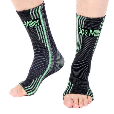 Doc Miller Premium Ankle Brace Compression Support Sleeve Socks For