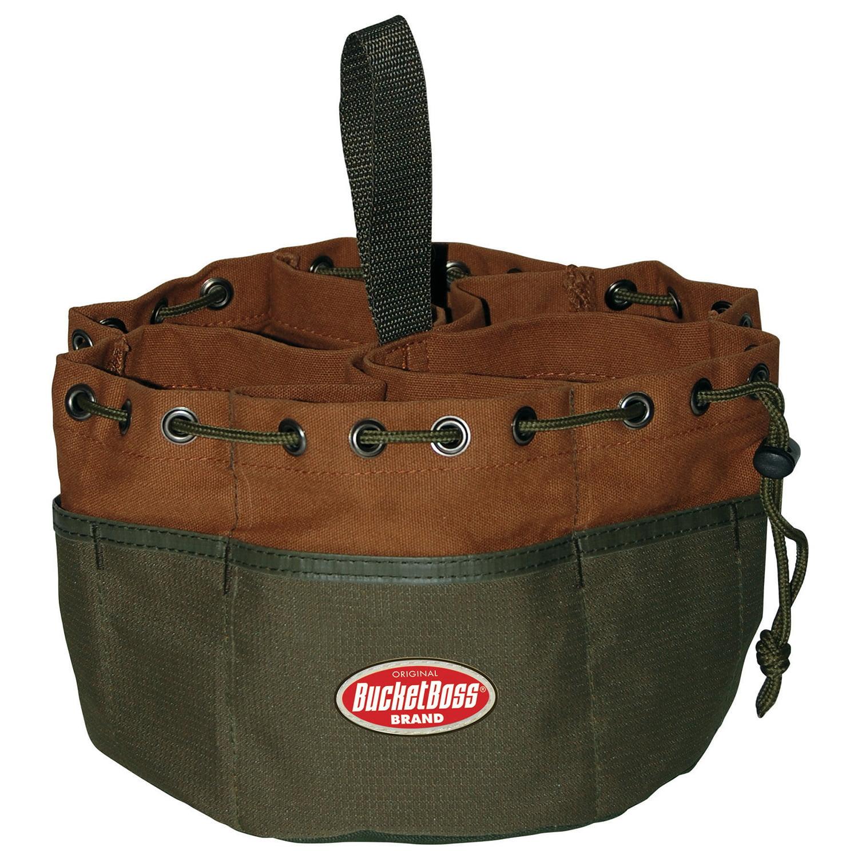 """Pullr 25001 10"""" X 6.5"""" Green & Brown Parachute Bag"""