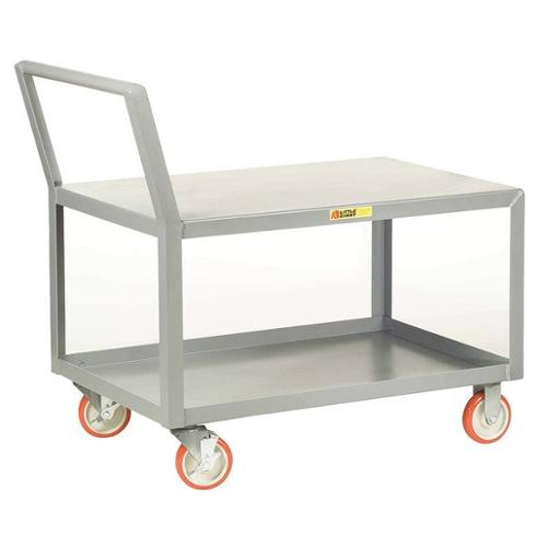 LITTLE GIANT LK-1832-5PYBK Utility Cart, Steel, 38 Lx18 W, 1200 lb.