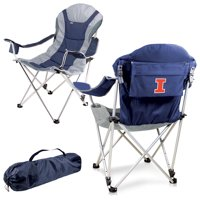 Illinois Fighting Illini Reclining Camp Chair - Navy - No Size