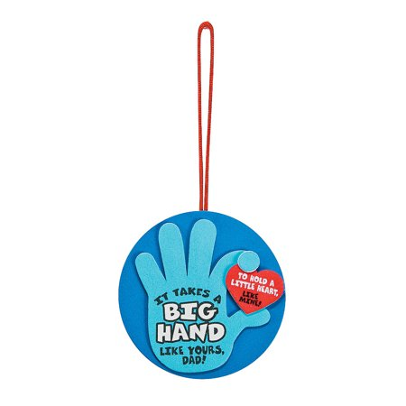 IN-13696077 Father's Day Hand Ornament Craft Kit Makes 12 - Father's Day Arts And Crafts